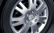 Light alloy wheel
